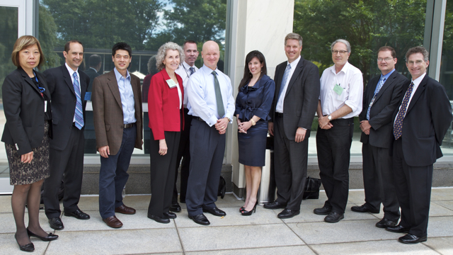 ISPAB Board with NIST Director Dr. Patrick Gallagher and ITL Director Charles Romine