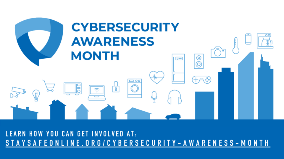 cybersecurity awareness month image
